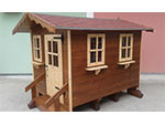 Zambottovernici - Vernice impregnante, casetta in legno