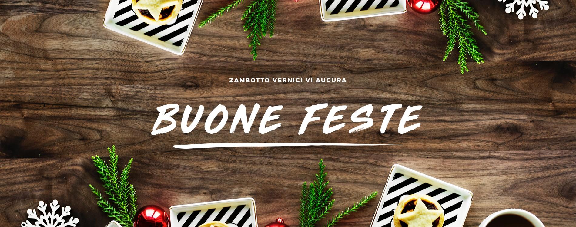 Buone Feste  - Zambotto Vernici